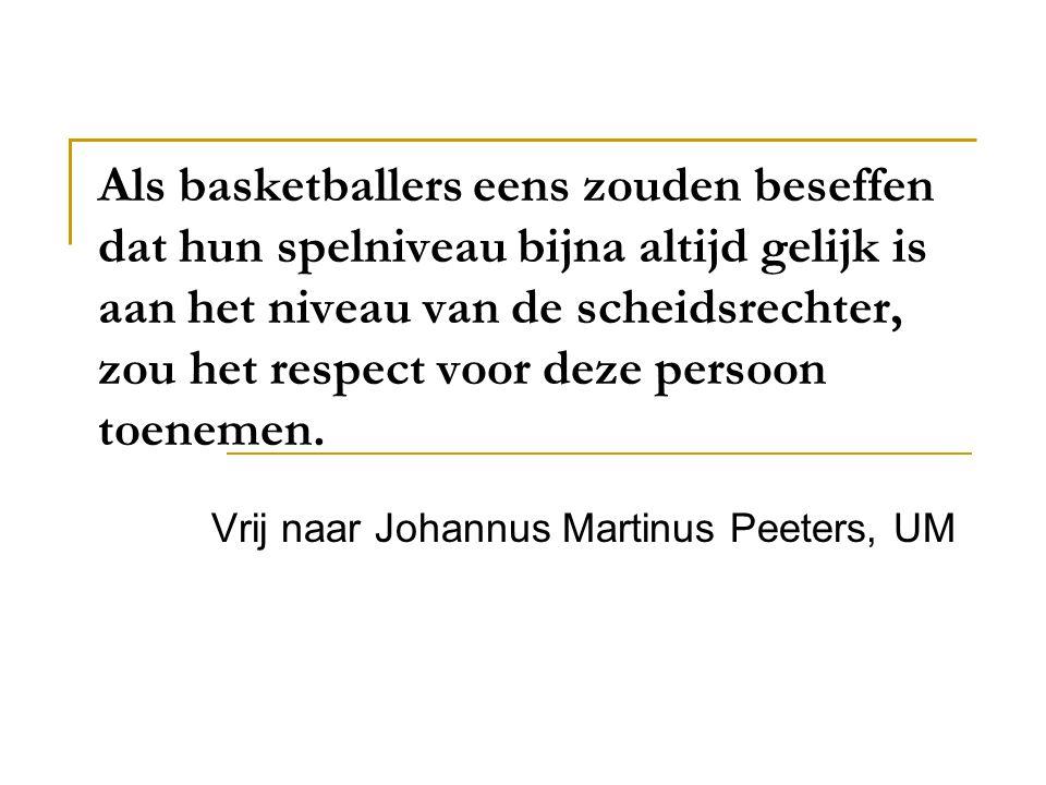 Vrij naar Johannus Martinus Peeters, UM