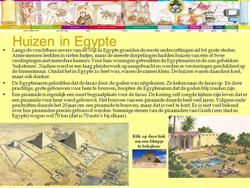 Huizen in Egypte
