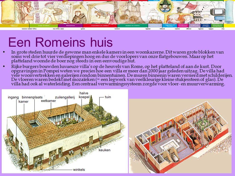 Een Romeins huis