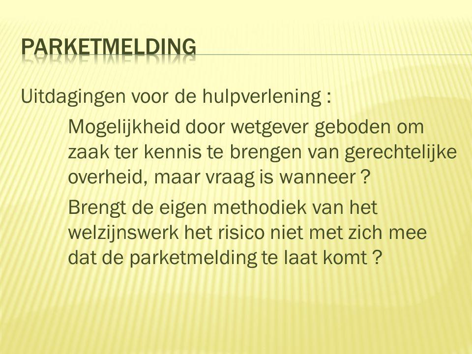 PARKETMELDING