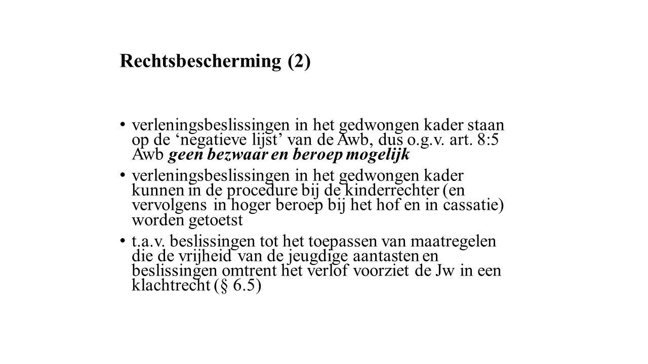 Rechtsbescherming (2)