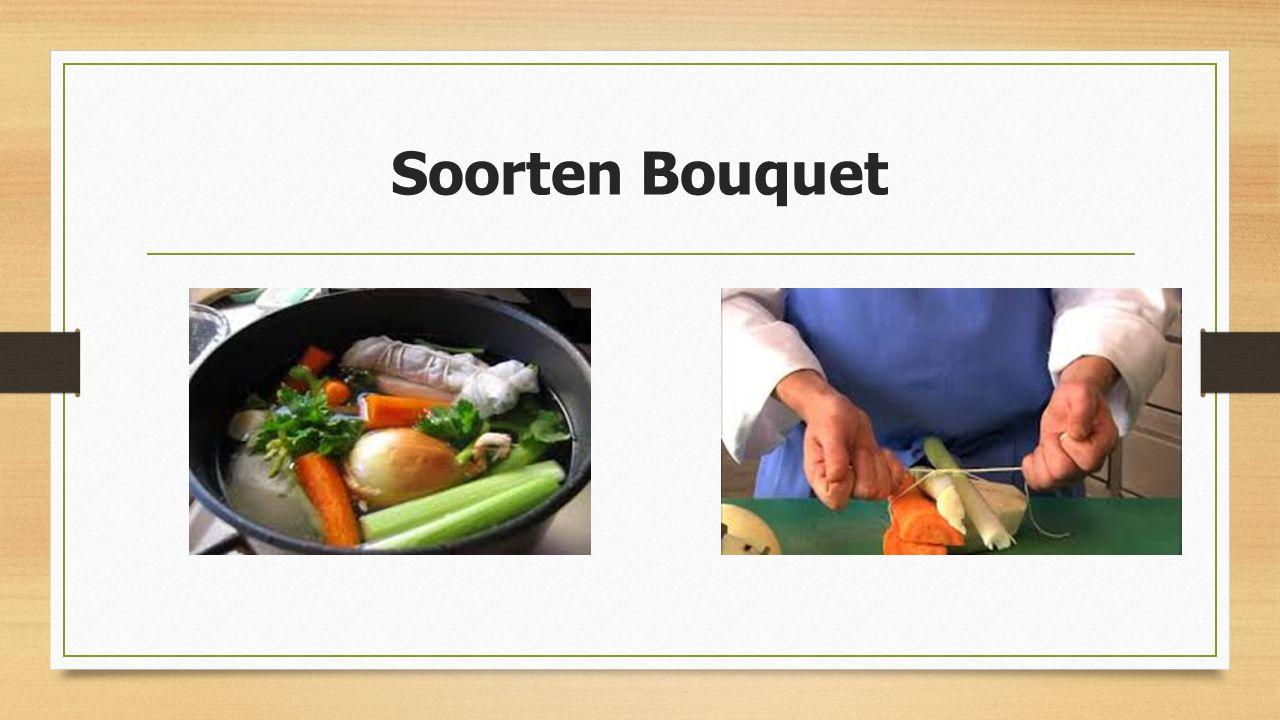 Soorten Bouquet