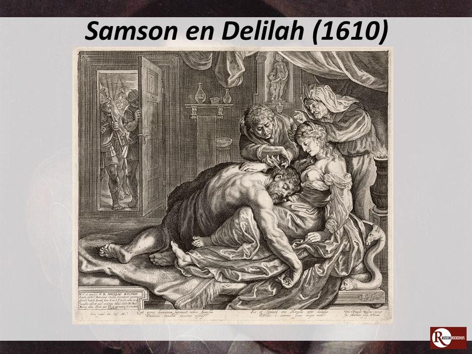 Samson en Delilah (1610)