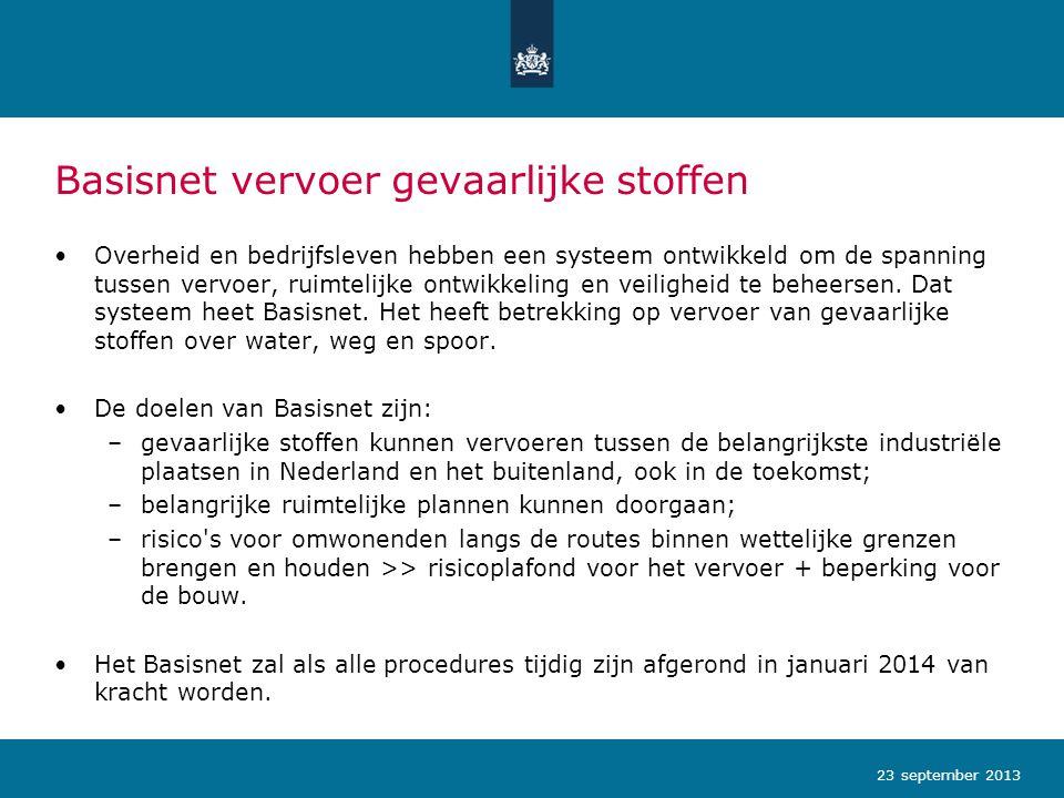 Basisnet vervoer gevaarlijke stoffen