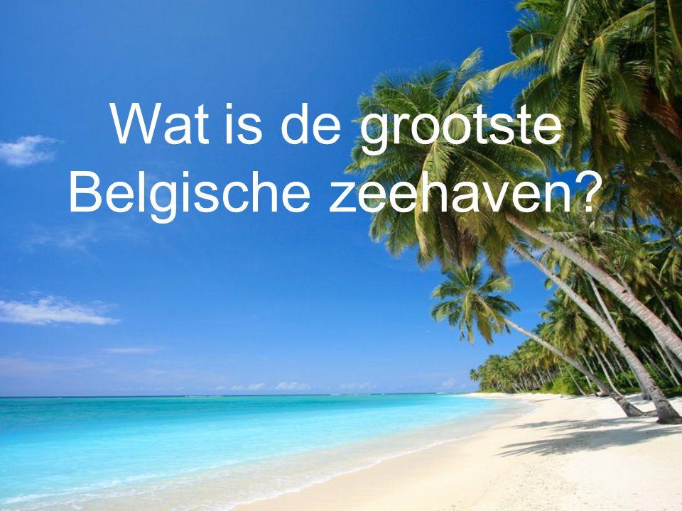 Wat is de grootste Belgische zeehaven