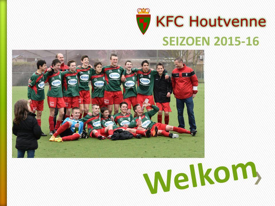 SEIZOEN 2015-16 Welkom