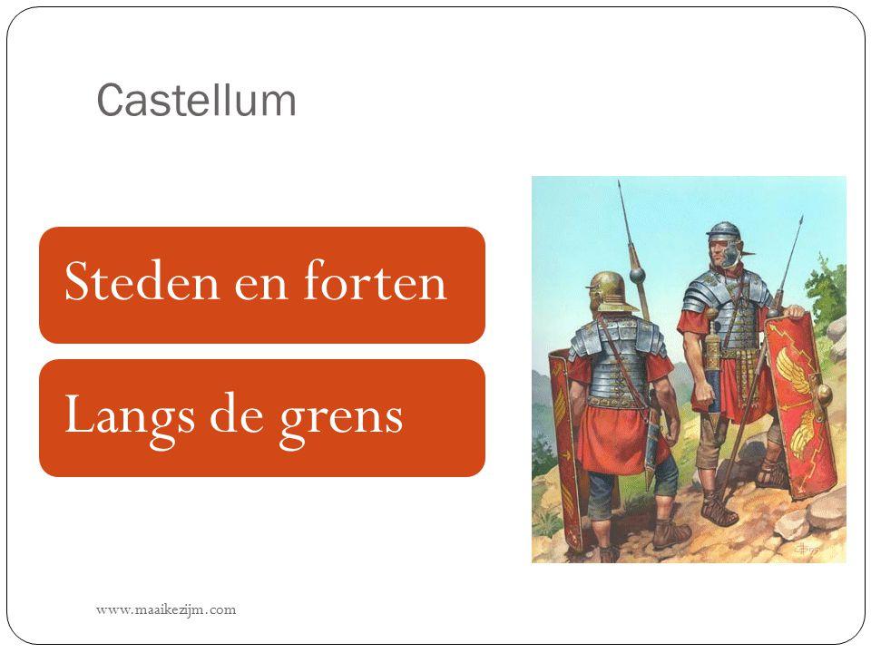 Castellum Steden en forten Langs de grens www.maaikezijm.com