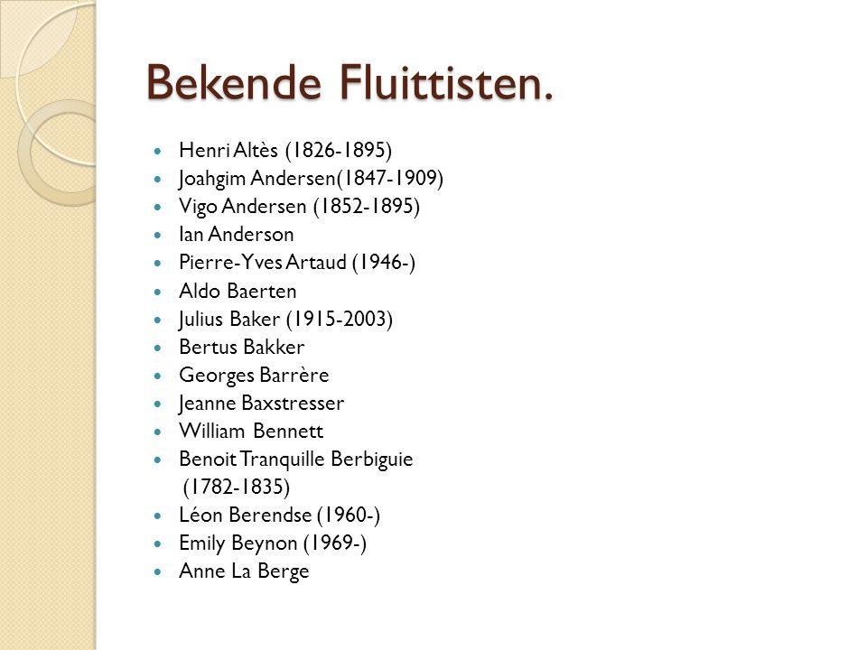 Bekende Fluittisten. Henri Altès (1826-1895)