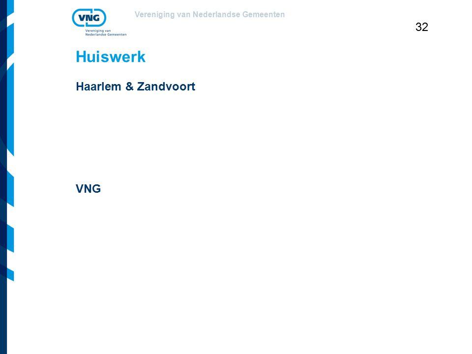 Huiswerk Haarlem & Zandvoort VNG