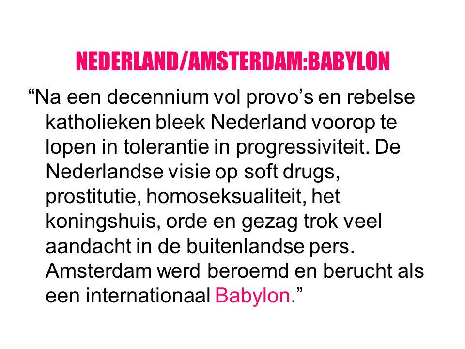 NEDERLAND/AMSTERDAM:BABYLON