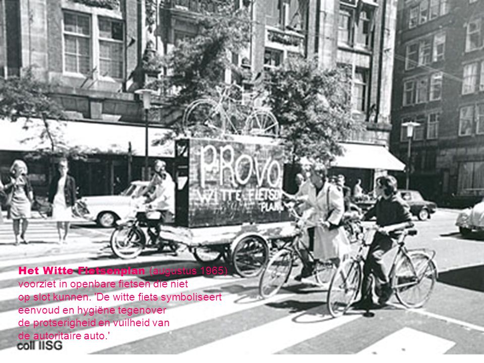 Het Witte Fietsenplan (augustus 1965)