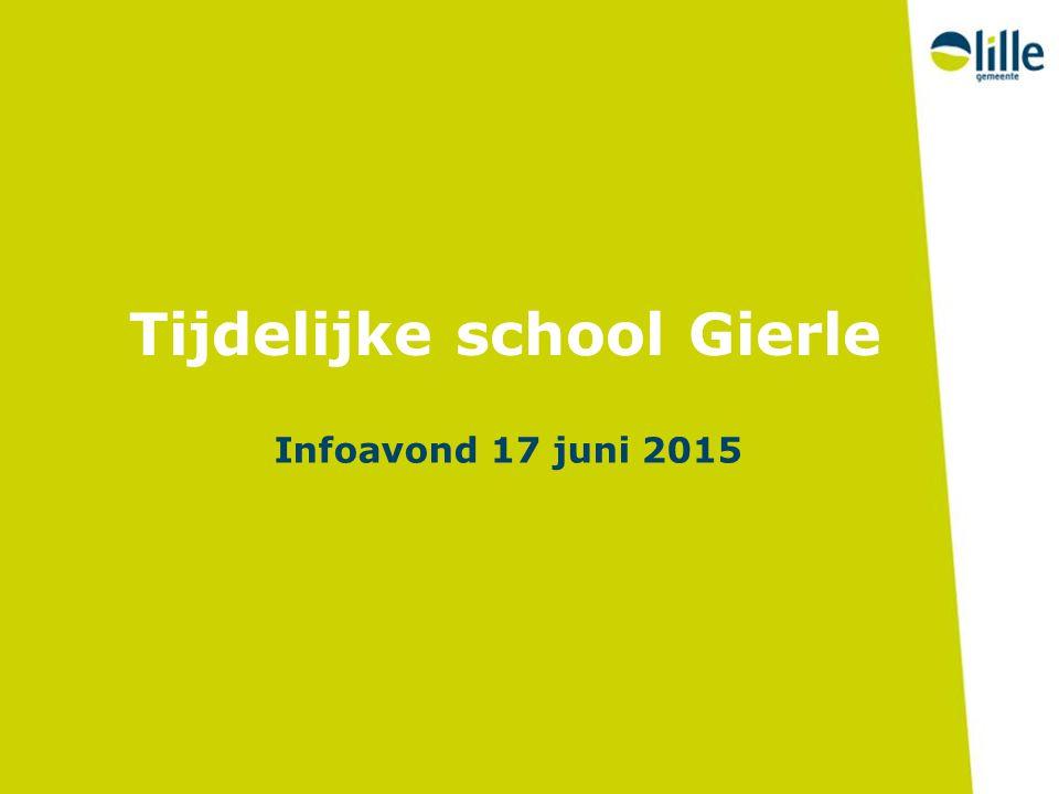 Tijdelijke school Gierle