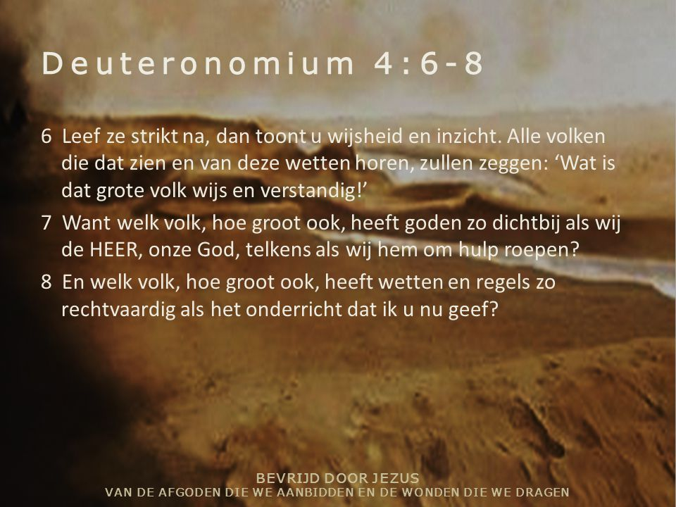 Deuteronomium 4:6-8