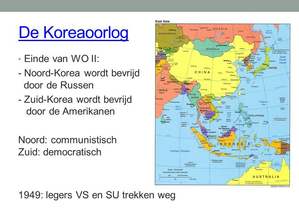 De Koreaoorlog Einde van WO II: