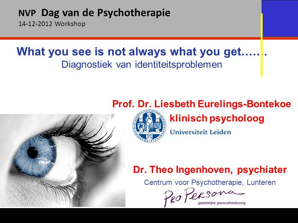 Dr. Theo Ingenhoven, psychiater