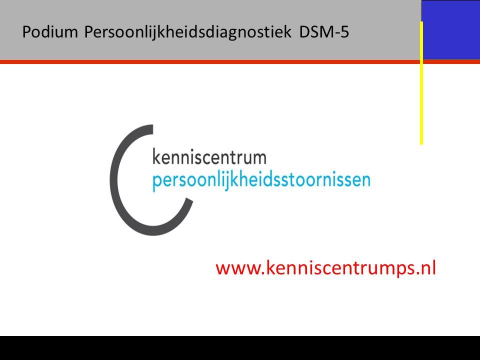 Podium Persoonlijkheidsdiagnostiek DSM-5