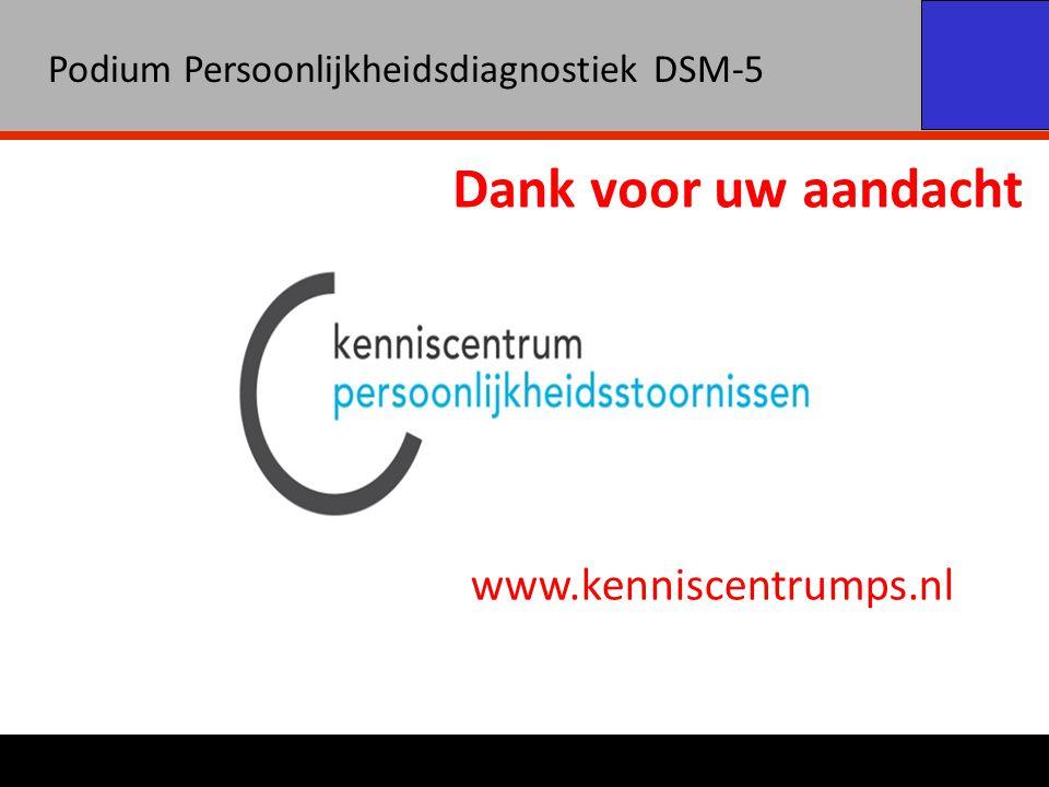 Dank voor uw aandacht www.kenniscentrumps.nl