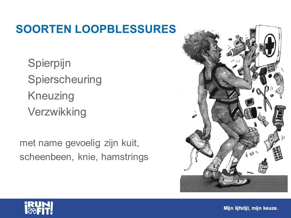 SOORTEN LOOPBLESSURES