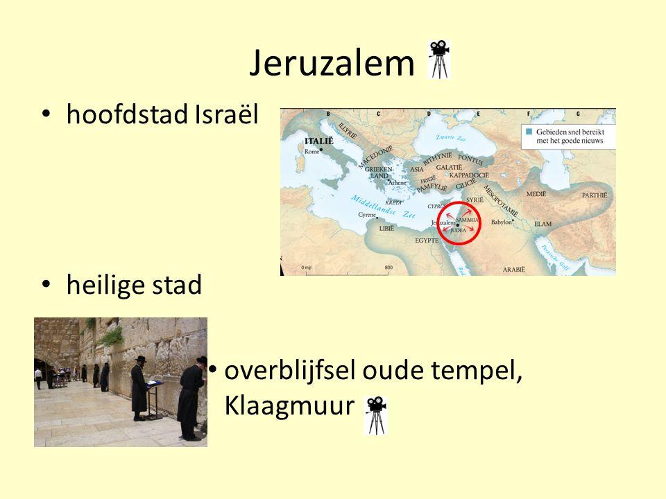 Jeruzalem hoofdstad Israël heilige stad