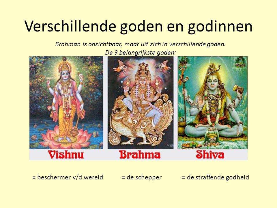 Verschillende goden en godinnen