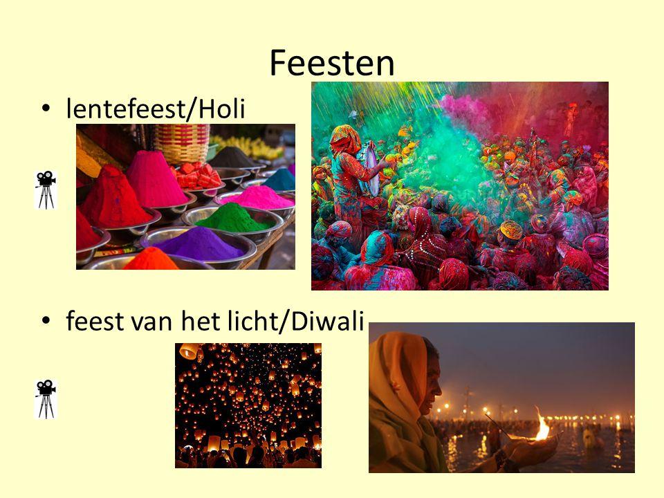 Feesten lentefeest/Holi feest van het licht/Diwali