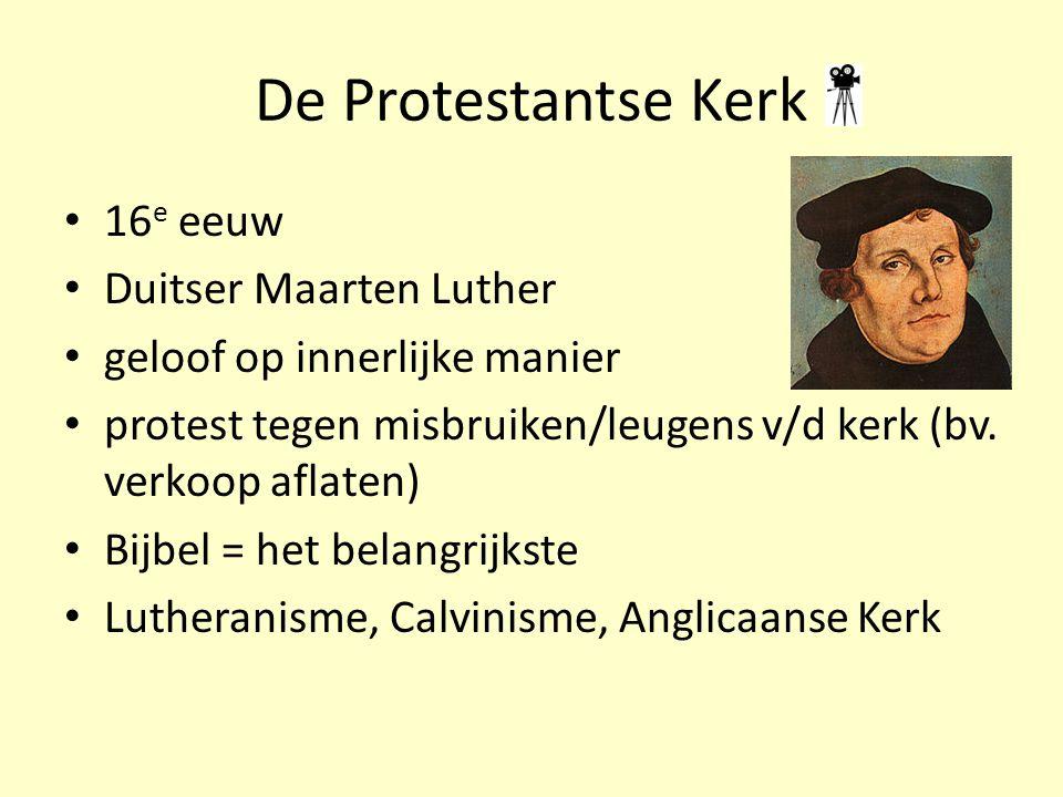 De Protestantse Kerk 16e eeuw Duitser Maarten Luther