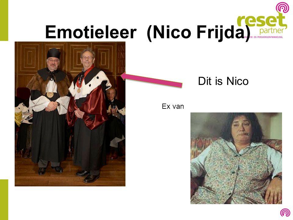 Emotieleer (Nico Frijda)