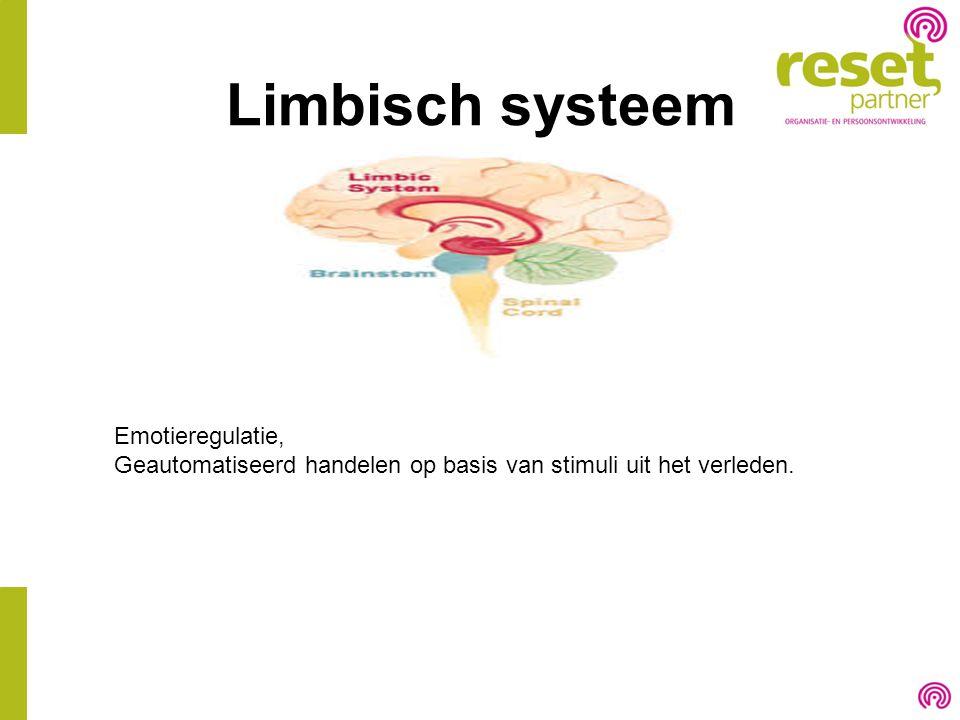 Limbisch systeem Emotieregulatie,