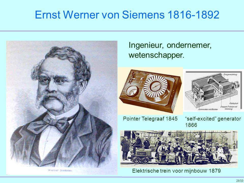 Ernst Werner von Siemens 1816-1892