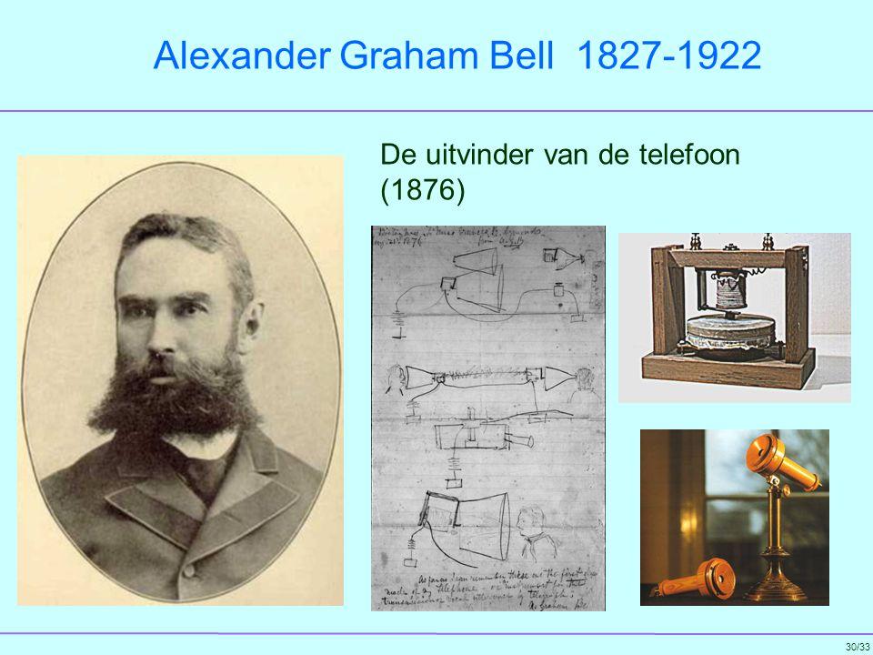 Alexander Graham Bell 1827-1922