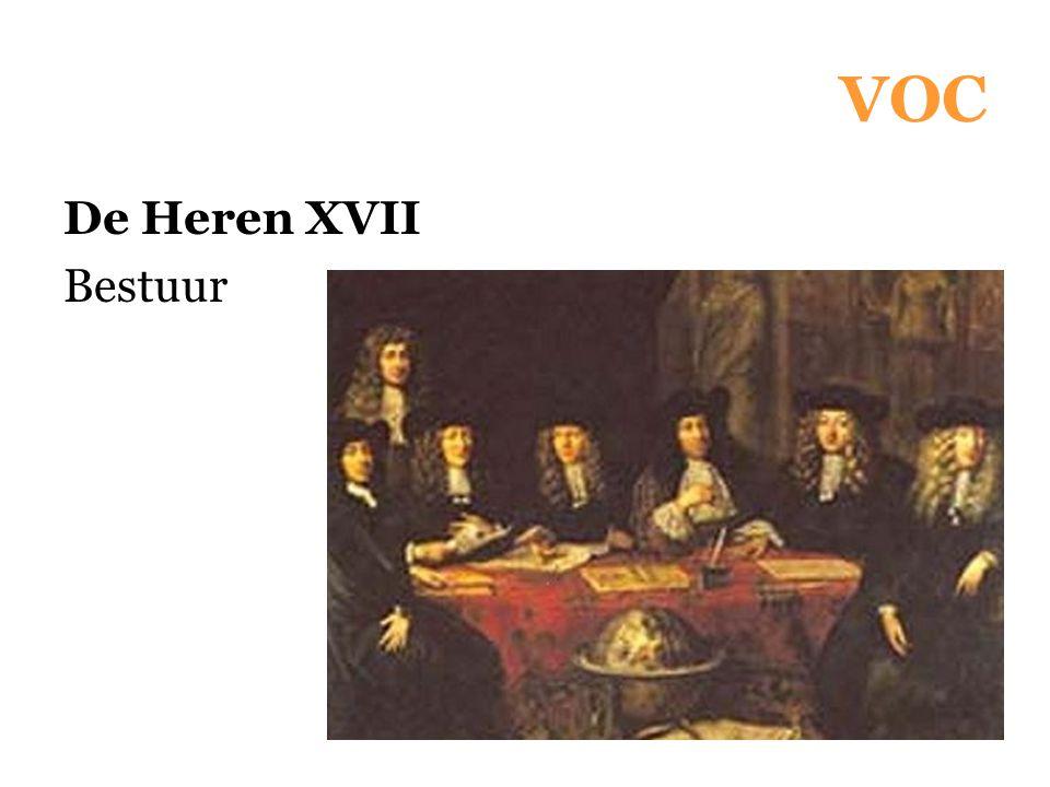 VOC De Heren XVII Bestuur