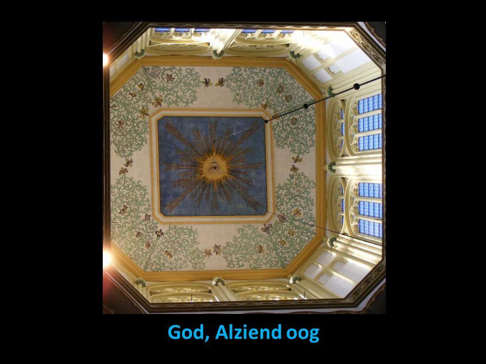 God, Alziend oog