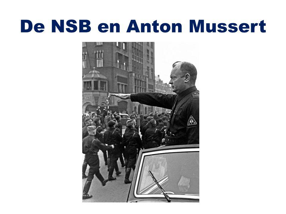 De NSB en Anton Mussert