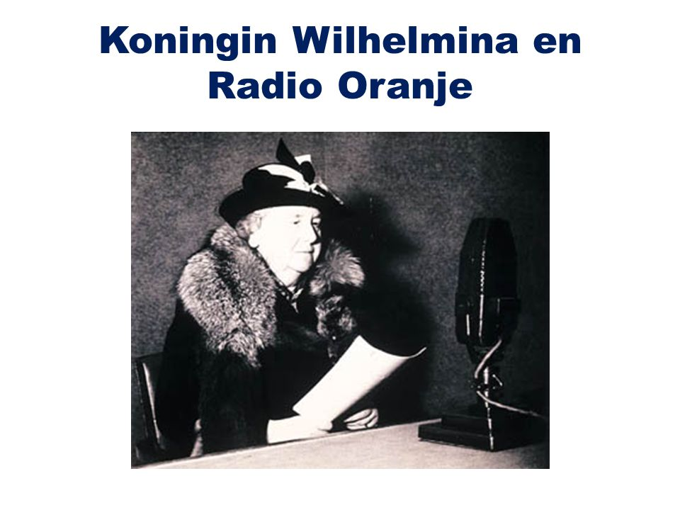 Koningin Wilhelmina en Radio Oranje