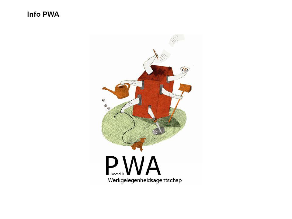 Info PWA PWA Infosessie