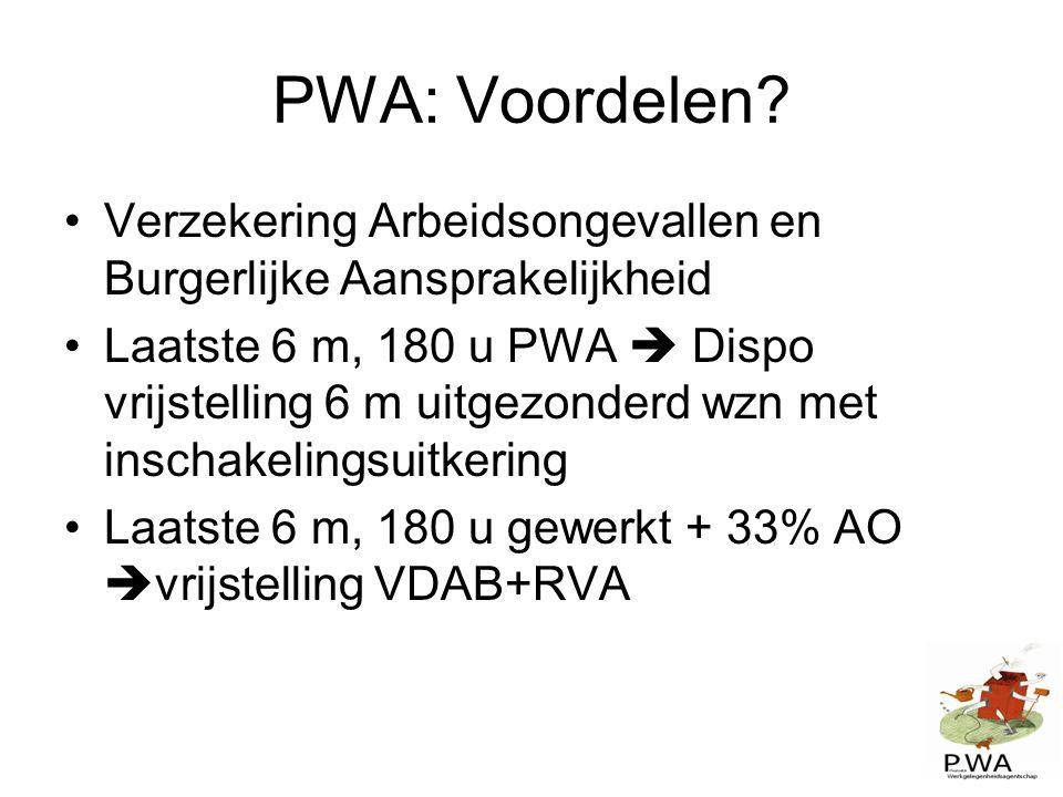 PWA: Voordelen Verzekering Arbeidsongevallen en Burgerlijke Aansprakelijkheid.