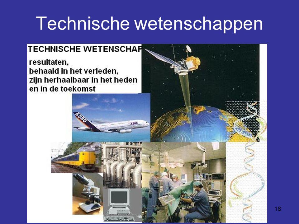 Technische wetenschappen