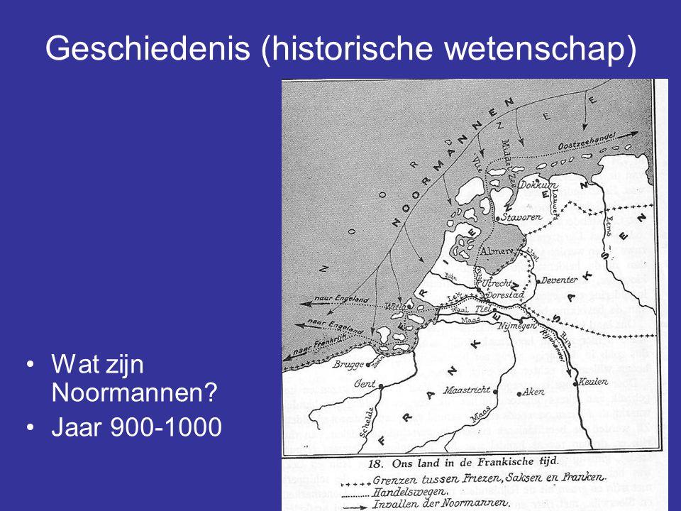 Geschiedenis (historische wetenschap)