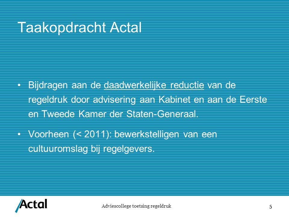 Taakopdracht Actal