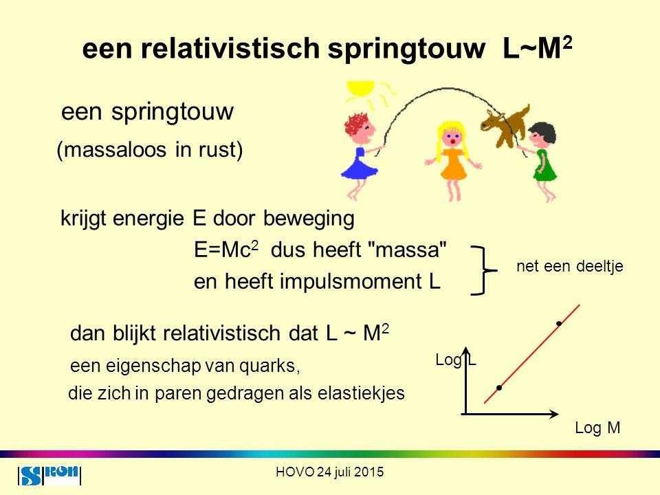 een relativistisch springtouw L~M2