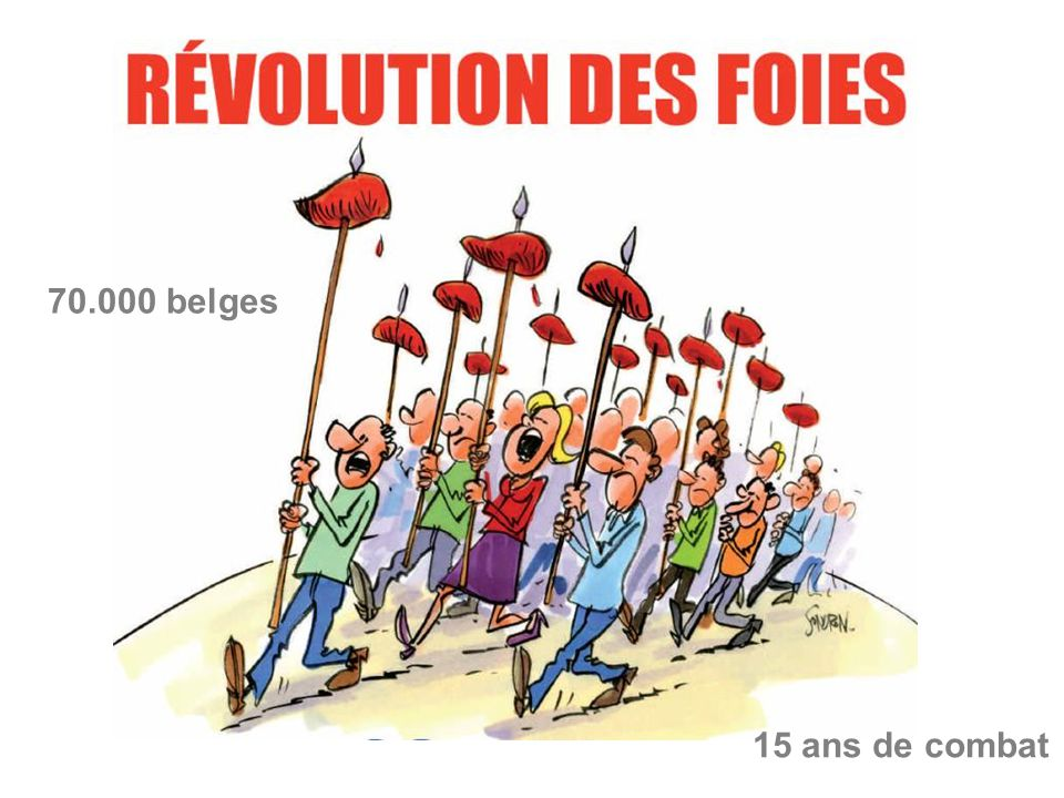 70.000 belges 15 ans de combat