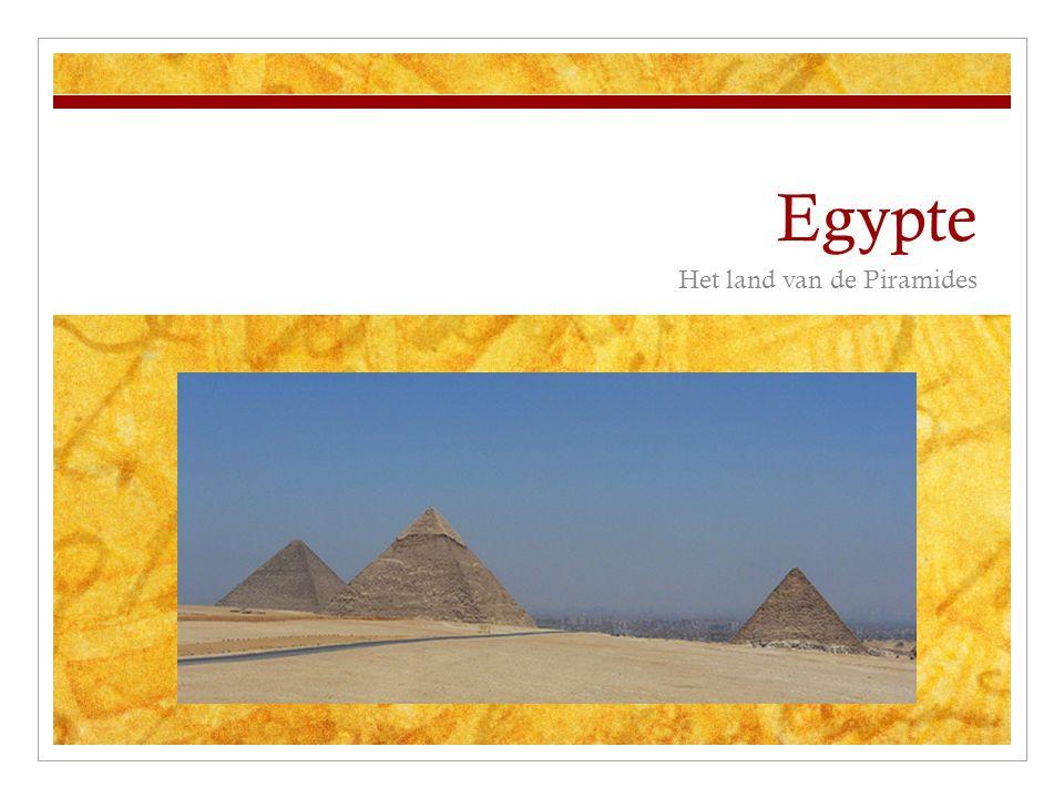 Het land van de Piramides