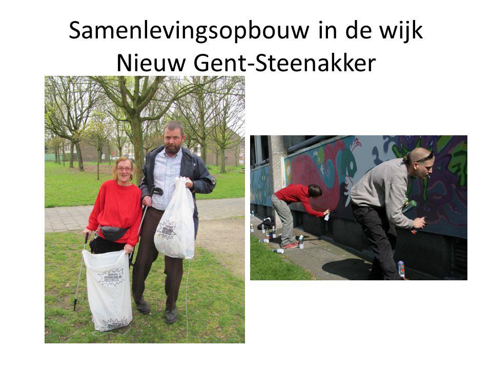 Samenlevingsopbouw in de wijk Nieuw Gent-Steenakker