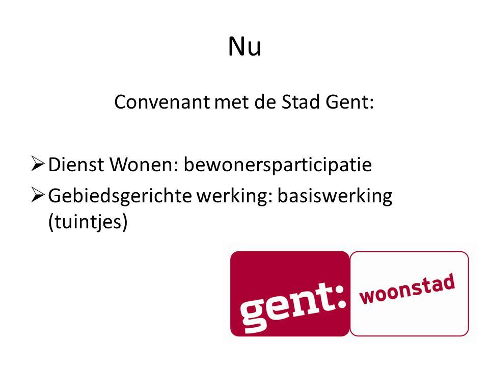 Convenant met de Stad Gent: