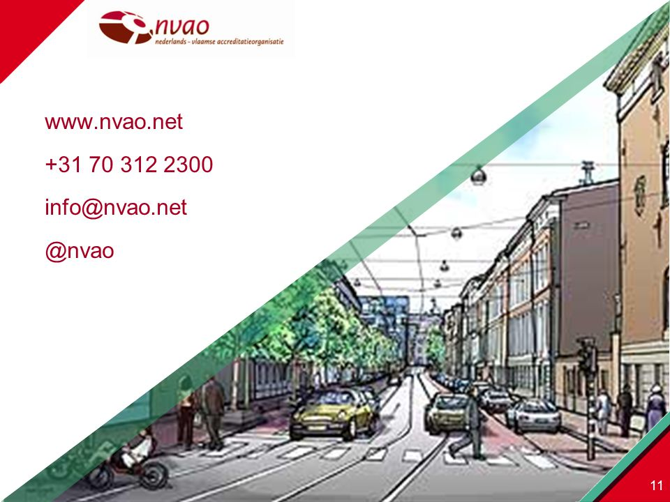 www.nvao.net +31 70 312 2300 info@nvao.net @nvao