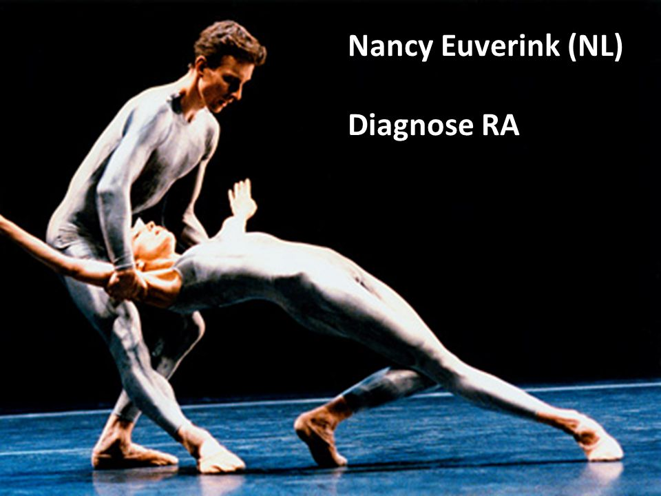 Nancy Euverink (NL) Diagnose RA