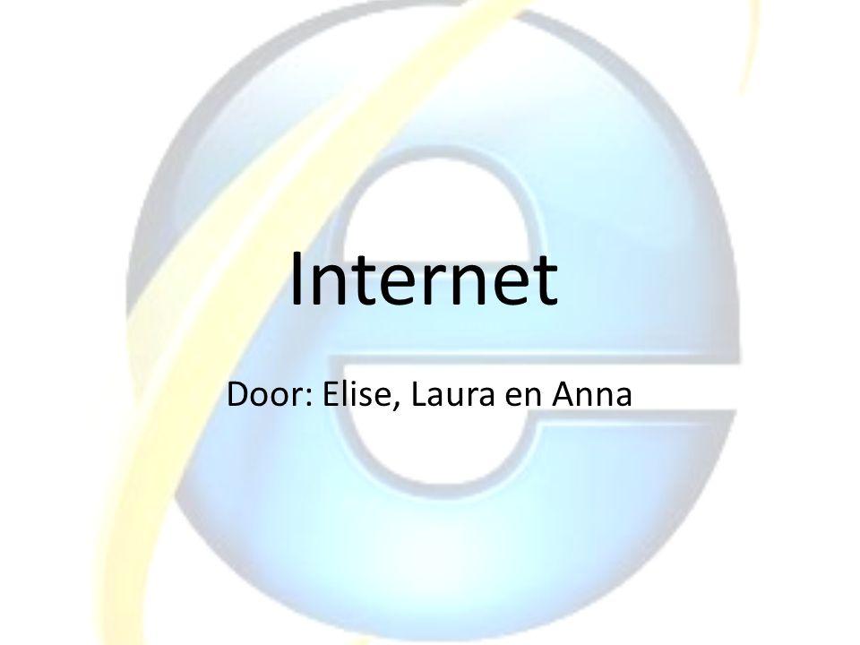 Door: Elise, Laura en Anna