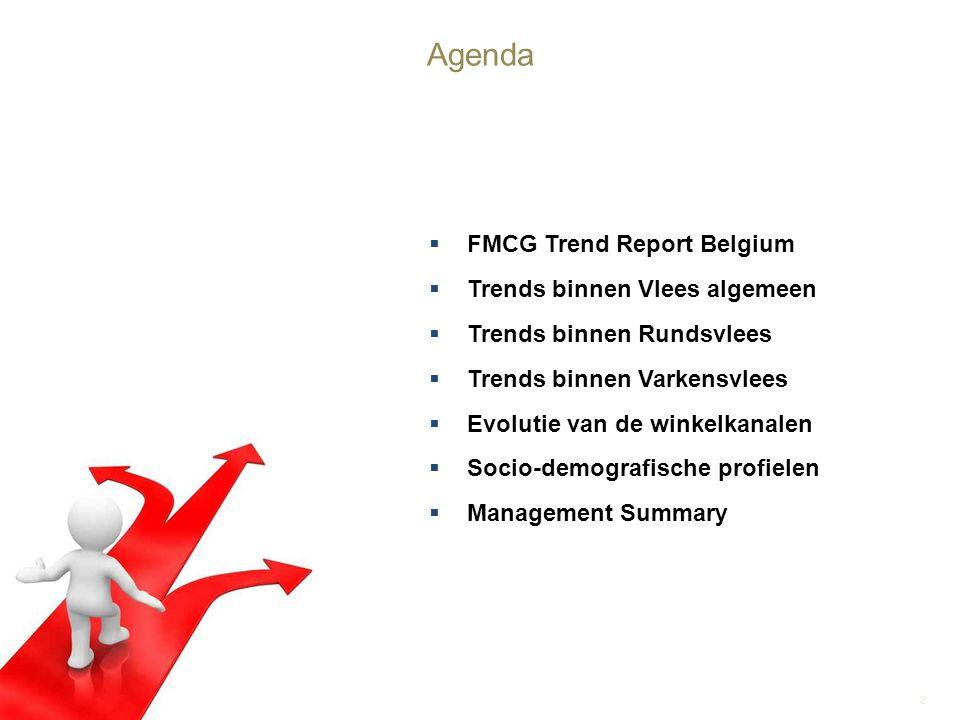 Agenda FMCG Trend Report Belgium Trends binnen Vlees algemeen