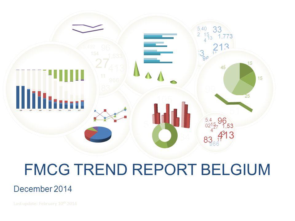 FMCG Trend report BElgium