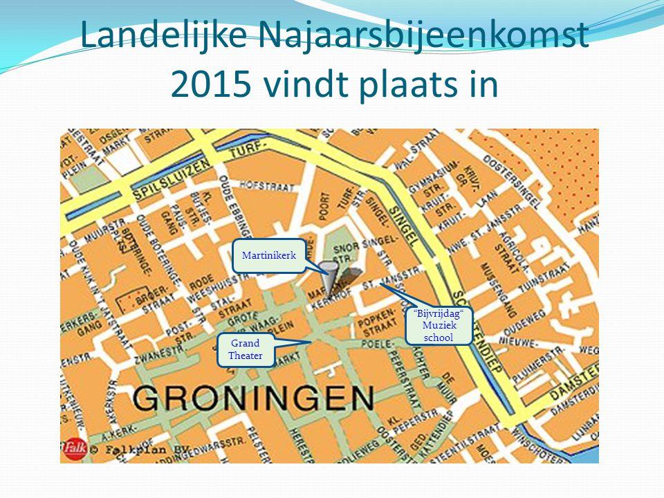 Landelijke Najaarsbijeenkomst 2015 vindt plaats in